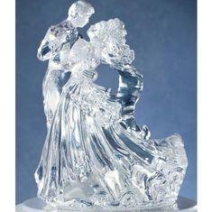 Wilton Bianca – čistý akryl svatební figurka