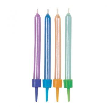 Wilton Třpytivé svíčky – Multicolor
