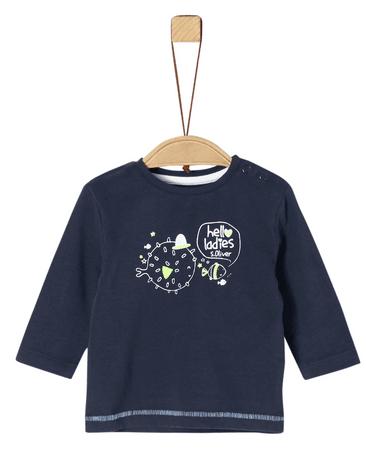 s.Oliver chlapecké tričko 50 - 56 modrá