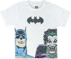 Disney chlapecké tričko Batman&Joker 116 bílá