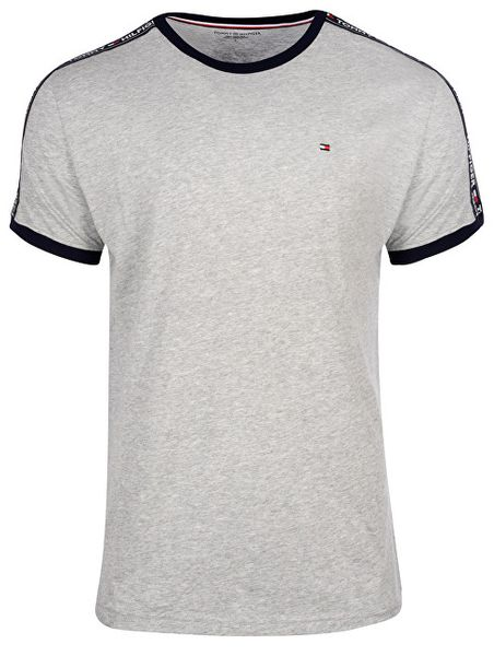 4dc6cecaff93 Tommy Hilfiger Pánské triko Authentic Rn Tee Ss UM0UM00562-004 Grey Heather  (Velikost M
