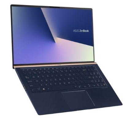 Asus prenosnik ZenBook UX533FD-A8147R i7-8565U/16GB/SSD 512GB/GTX1050/15,6''FHD/W10P (90NB0JX1-M03070)