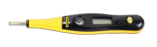 Topmaster digitalni preizkuševalec napetosti AC12–220 V, DC 12–36 V (281101)