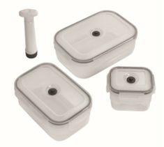 Compactor Aspi Fresh - 3 delni set plastičnih posod za hrano