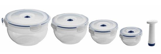 Compactor Aspi Fresh - 4 delni set plastičnih posod za hrano