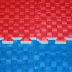 Katsudo Tatami judo puzzle HARD - modro/červené