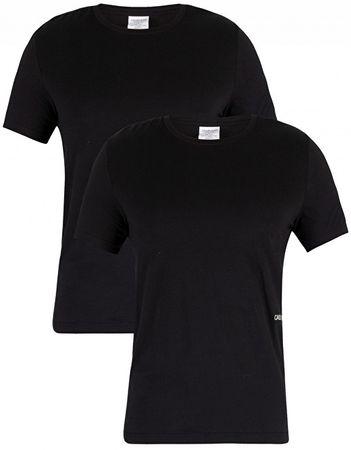 Calvin Klein Férfi póló szett S S Crew Neck 2pc Black (méret XL ... 0bdd4a2347