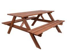 Rojaplast lesena vrtna garnitura Piknik, 180 cm (245/6)