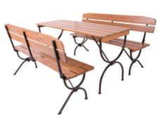 Rojaplast BRAVO Kerti bútor szett, 180 cm