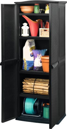 CURVER RATTAN STYLE TALL SHED szafka