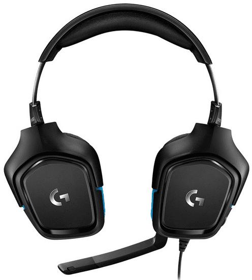 Logitech G432, čierna (981-000770)