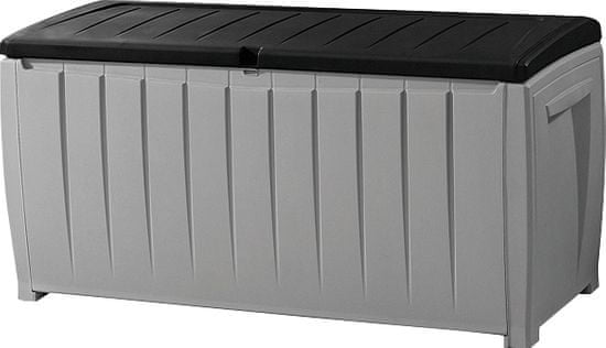 KETER Novel škatla za shranjevanje, 340L - odprta embalaža
