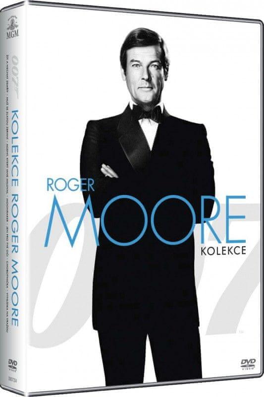 JAMES BOND Roger Moore - kolekce - DVD