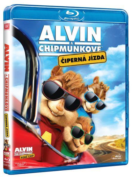 Alvin a Chipmunkové 4: Čiperná jízda - Blu-ray