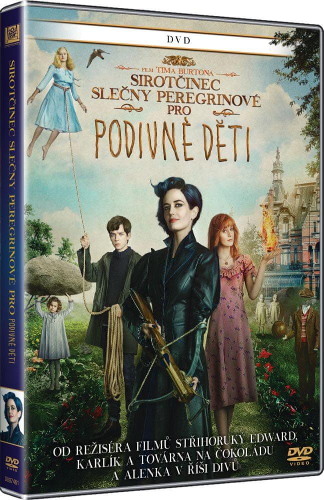 Sirotčinec slečny Peregrinové pro podivné děti - DVD