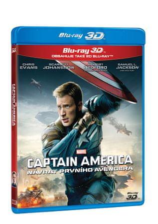 Captain America: Návrat prvního Avengera 3D+2D (2 disky) - Blu-ray