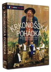 Krkonošská pohádka (3DVD, díly 1-20) - HD remaster verze - DVD