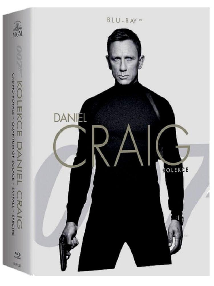 JAMES BOND Daniel Craig - kolekce (4BD) - Blu-ray