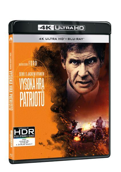 Vysoká hra patriotů (2 disky) - Blu-ray + 4K Ultra HD