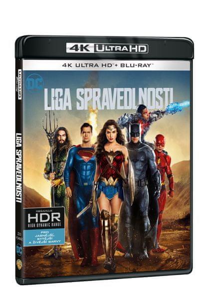 Liga spravedlnosti (2 disky) - Blu-ray + 4K Ultra HD