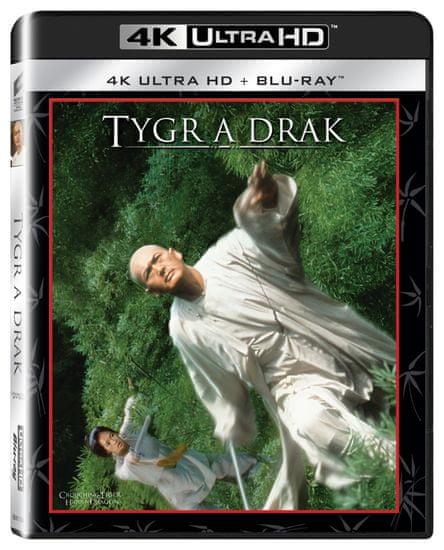 Tygr a drak (2 disky) - Blu-ray + 4K Ultra HD