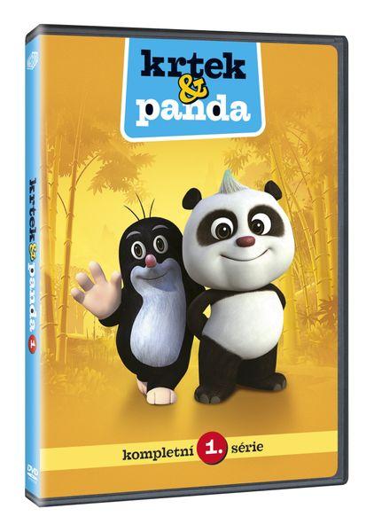 Krtek a Panda 1 - DVD
