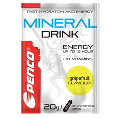 Penco Iontový nápoj MINERAL DRINK 20g Grapefruit