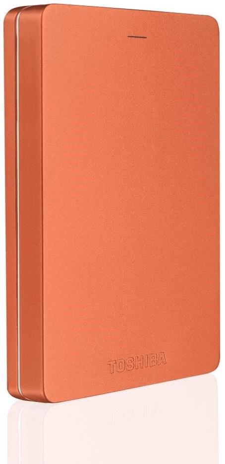 TOSHIBA Canvio Alu - 2TB, metalická červená (HDTH320ER3AB)