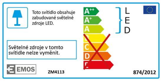 EMOS LED svjetiljka Dori, kvadratna, 18 W