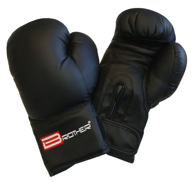 BROTHER Boxerské rukavice M černé