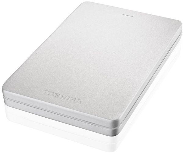 Toshiba Canvio Alu - 500gb, Stříbrná Hdth305Es3Ab