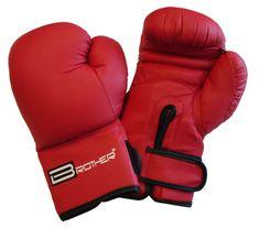 BROTHER Boxerské rukavice L červené