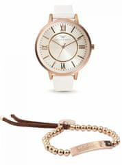 VictoriaWallsNY sada hodinek s náramkem VWS003