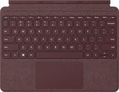 Microsoft Surface Go Type Cover Burgundy, ENG (KCS-00053) - zánovné