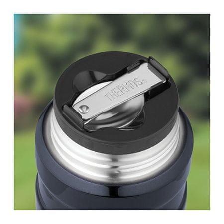 Style Termoska na jedlo sa skladateľná lyžicou a šálkou - medená 470 ml. »« ae06e042832