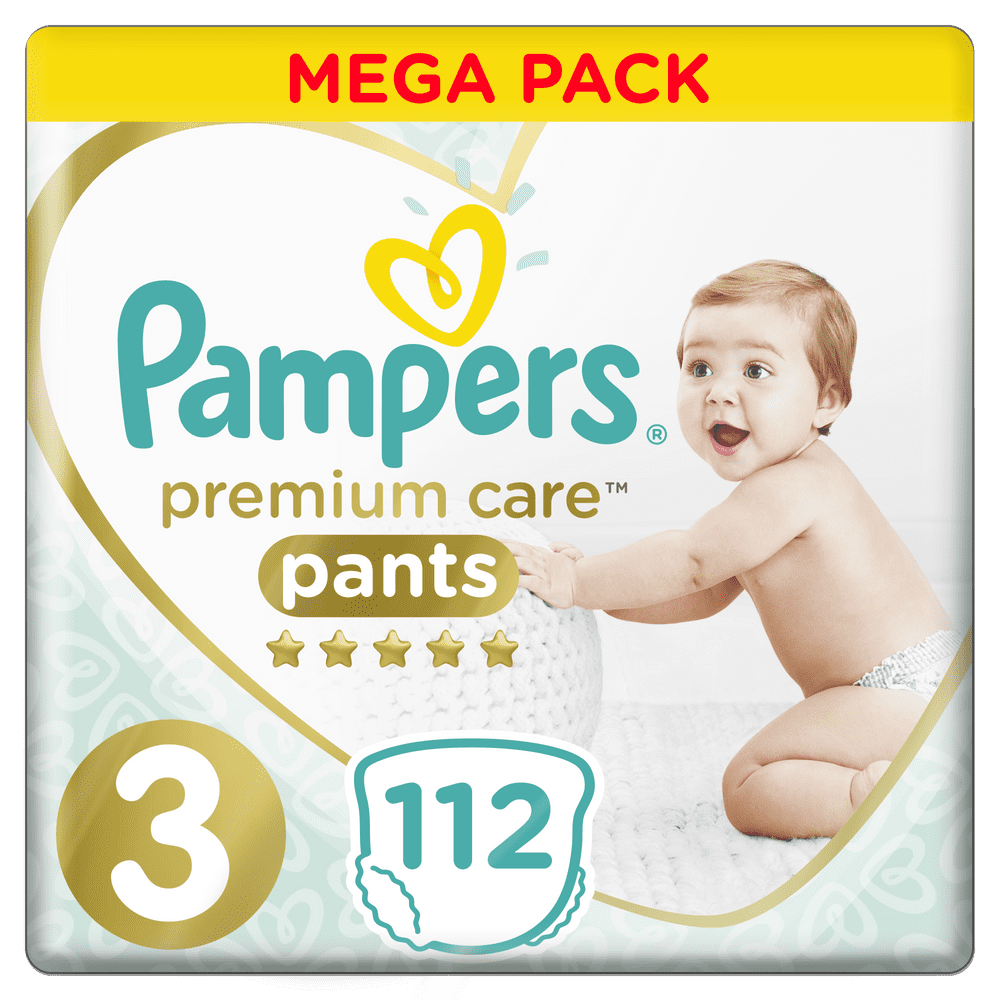 Pampers Premium Pants 3 (6-11 kg) Mega Box 112 ks