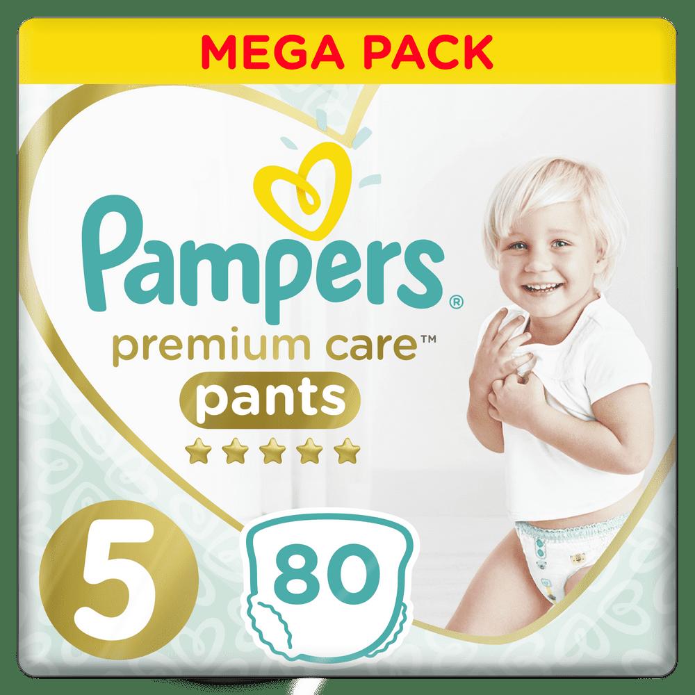 Pampers Premium Care Pants 5 (12-17 kg) Mega Box 80 ks