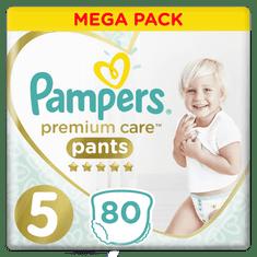 Pampers plenice Premium Pants Mega Box S5, 80 kosov