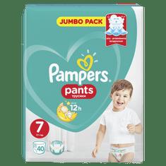 Pampers plenice Pants S7, 80 kosov