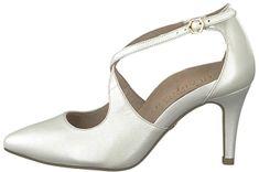 Tamaris Dámské lodičky 1-1-24402-22-101 White Pearl