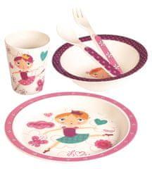 Mertens Dětské nádobí zbambusu, set, 5 dílů, Tanečnice
