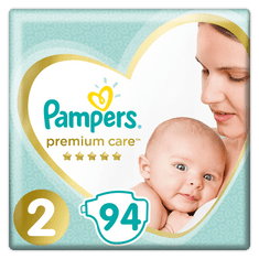 Pampers Pleny PremiumCare 2 Mini - 3-6 kg, 94 ks