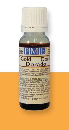 PME PME airbrush farba lesklá – zlatá