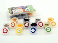 Food Colours Sada naturálních prachových barev - 8ks