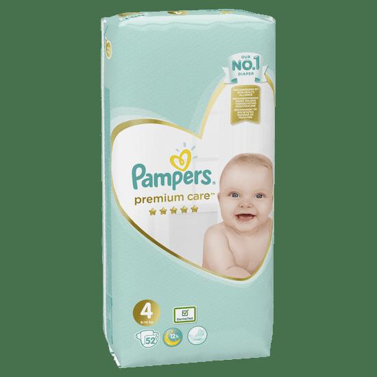 Pampers Plenky Premium Care 4 Value Pack (9-14 kg) 52 ks