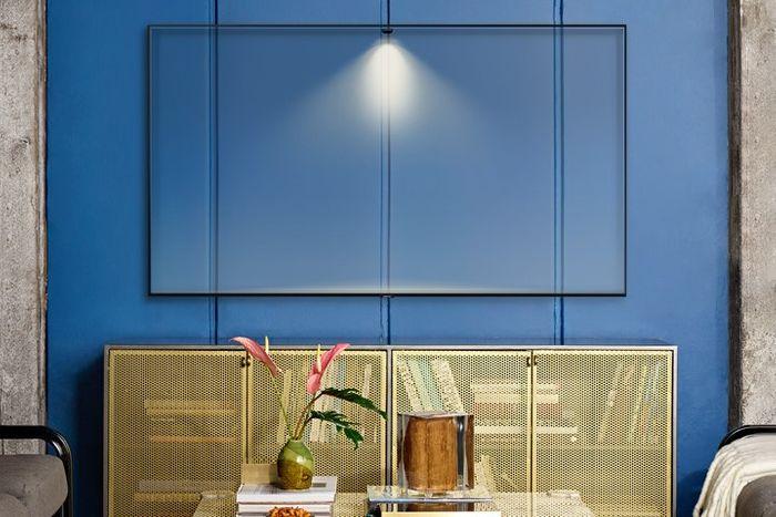 samsung tv televize qled 2019 quantum dot 100% objem barev q60r fantastické barvy dokonalost obrazu splyne s okolím
