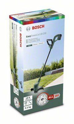 Bosch Akumulátorová strunová sekačka EasyGrassCut 18-230 (1 akumulátorový článek)
