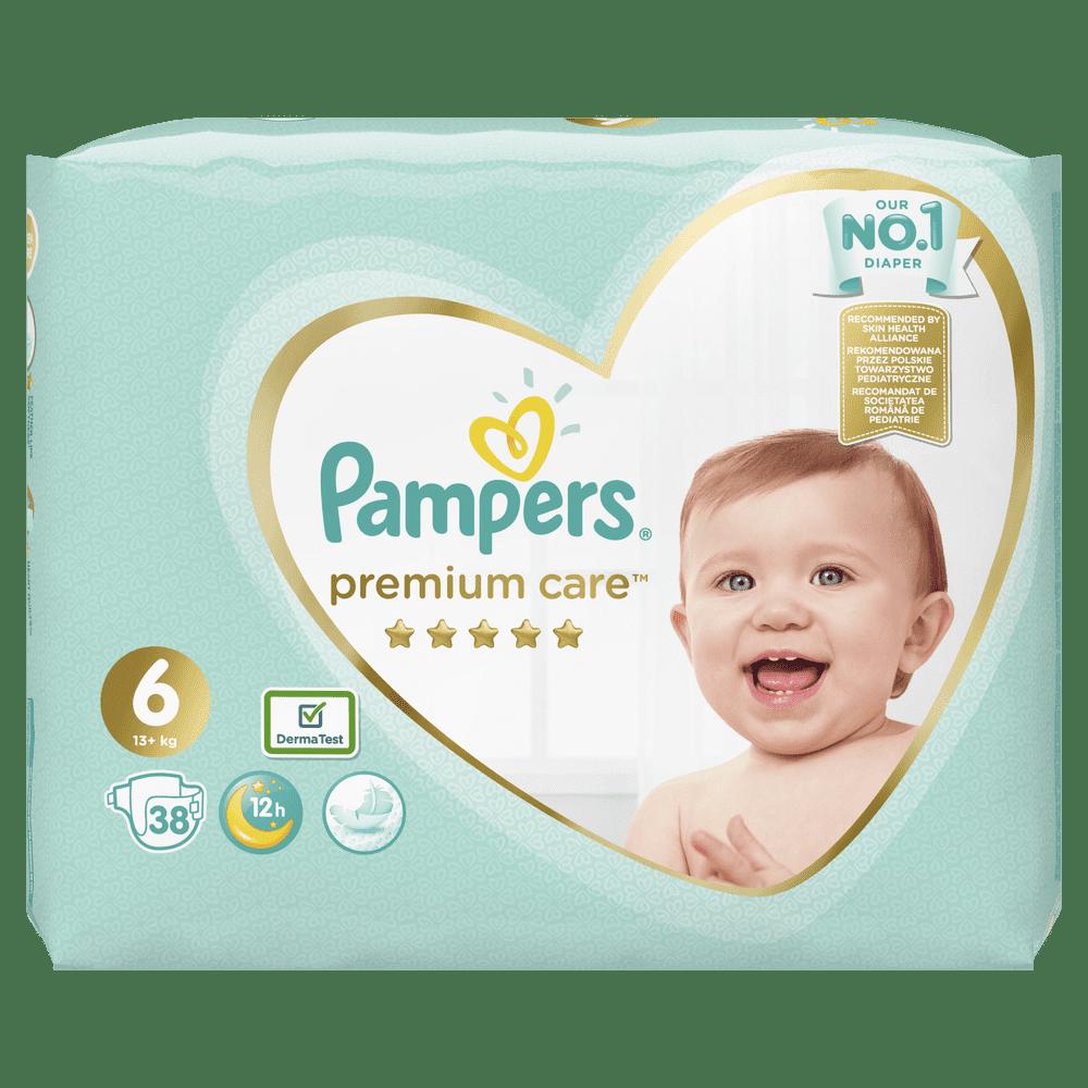 Pampers Premium Care 6 (13+ kg) 38 ks