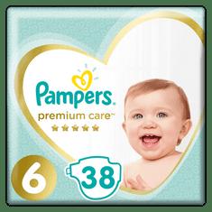 Pampers plenice Premium Care, S6, 38 kosov