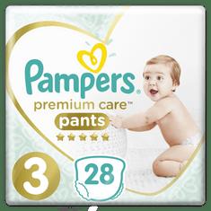 Pampers plenice Premium Pants S3, 28 kosov